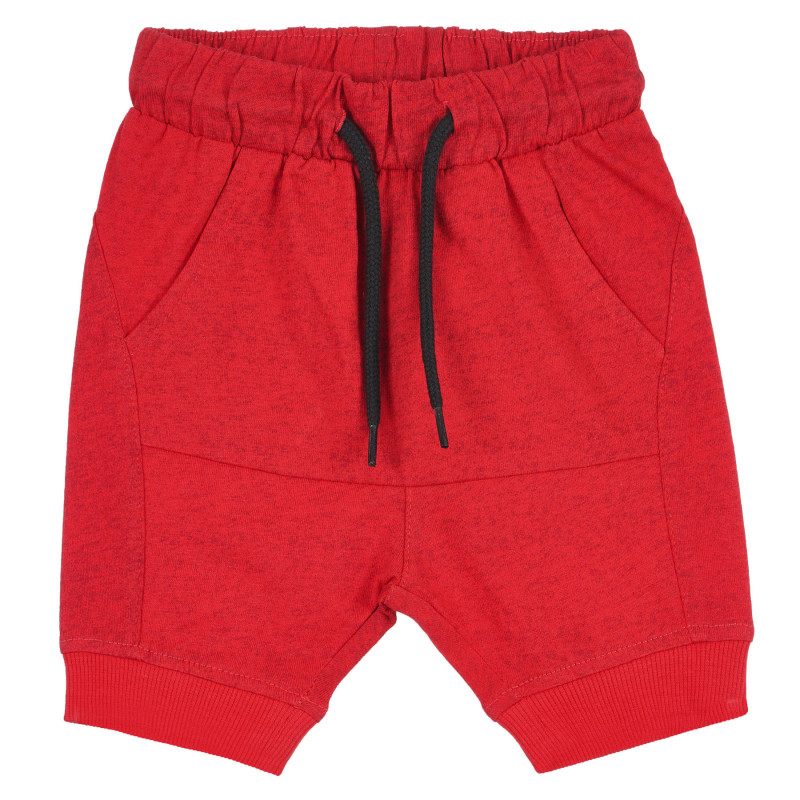 Pantaloni scurți din bumbac pentru bebeluș, roșii  239278