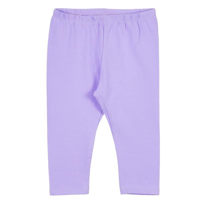 Colanți din bumbac pentru bebeluși, violet  239345