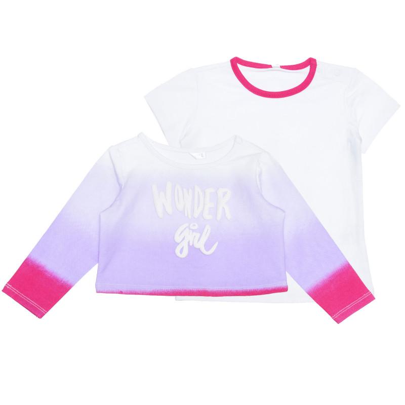 Set de tricou și bluză pentru bebeluși din bumbac  239501