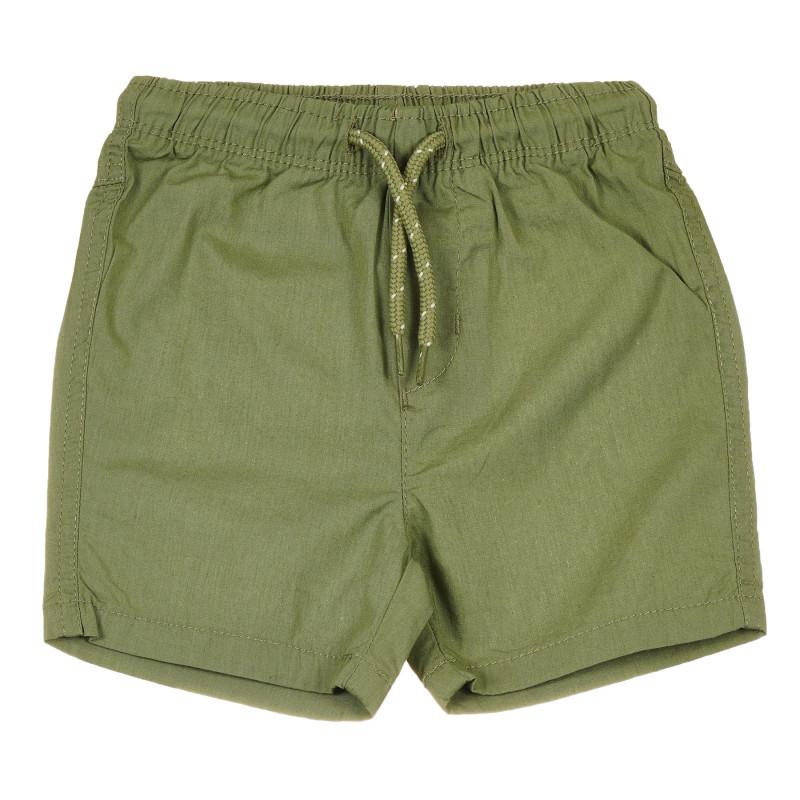 Pantaloni scurți sport din bumbac pentru bebeluși, verzi  239638