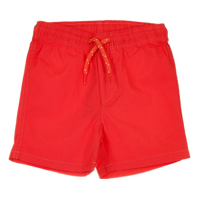 Pantaloni scurți tip costum de baie pentru bebeluș, roșu  239642