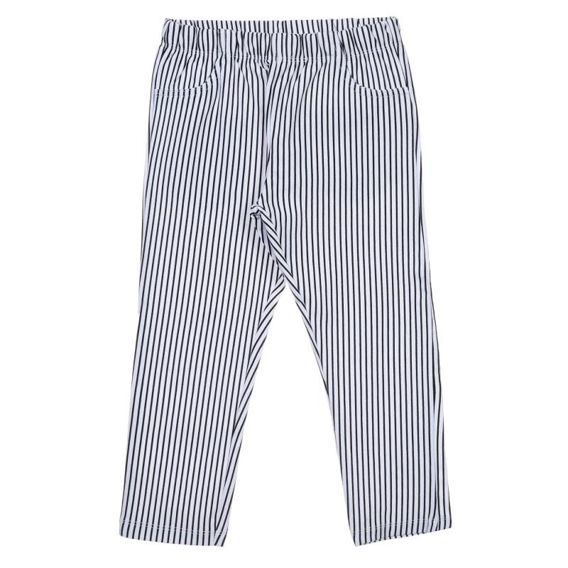 Pantaloni în dungi albe și negre  239768