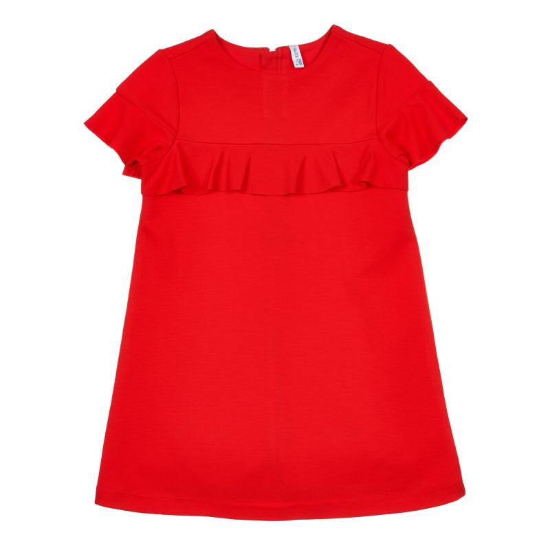 Rochie cu volane, roșie  239832