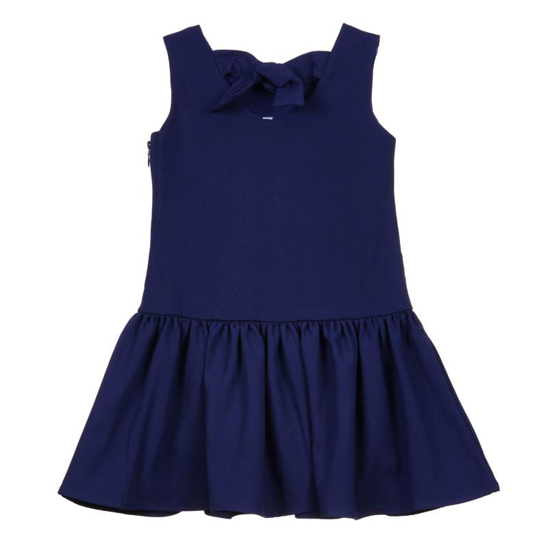 Rochie cu panglică, albastră  239836