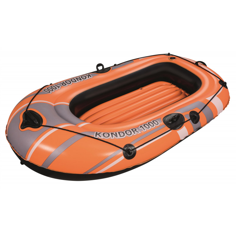 Barcă gonflabilă Kondor 1000, 155 x 93 x 30 cm, portocalie  239974