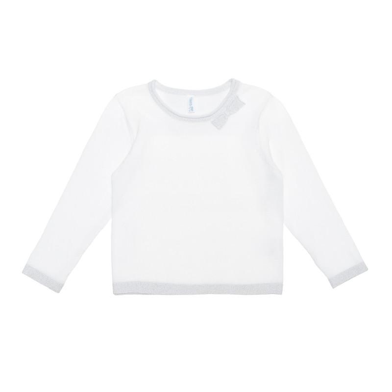Bluză din bumbac cu detalii strălucitoare pentru bebeluș  240231