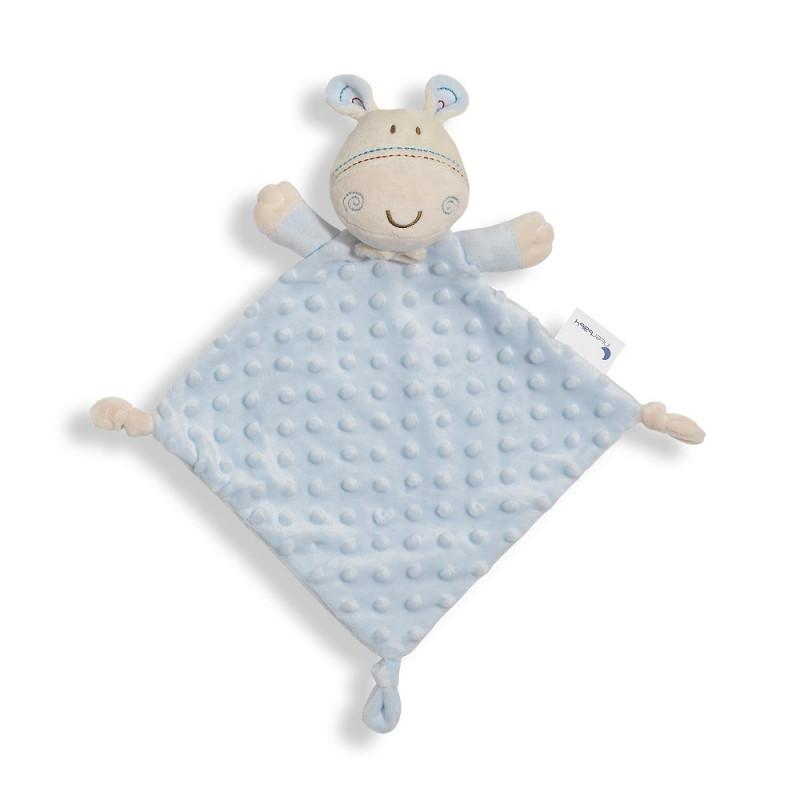 Jucărie de alint girafă 28 x 17 cm, albastră  240699