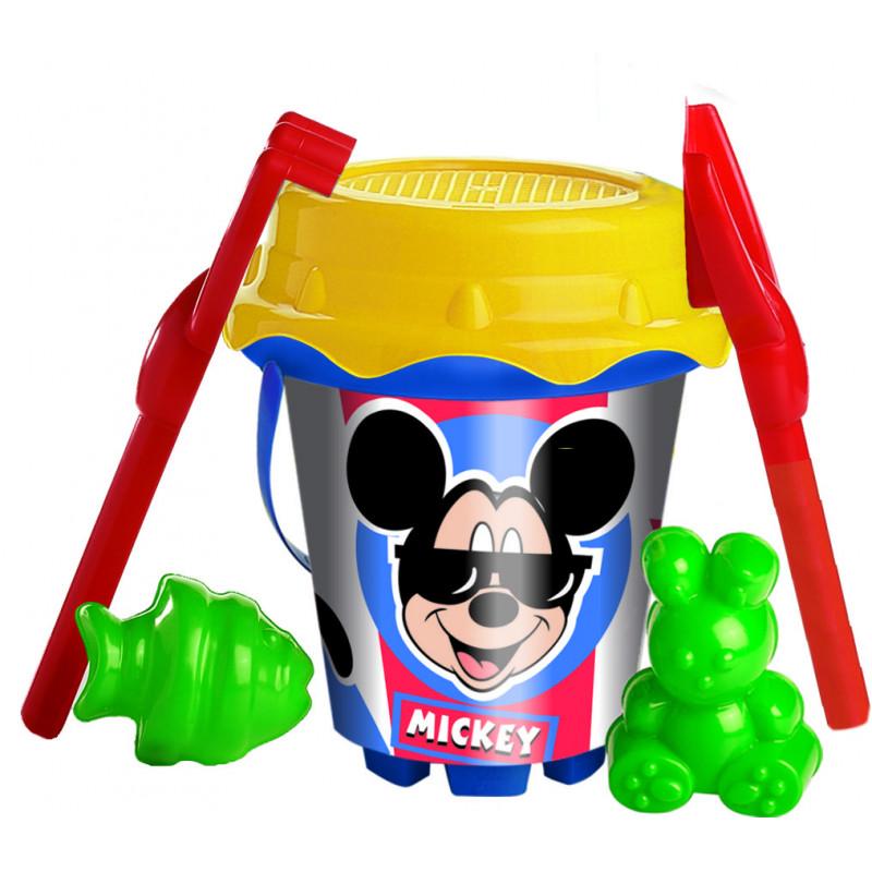 Set nisip Mickey Mouse, 18 cm, multicolor  240786
