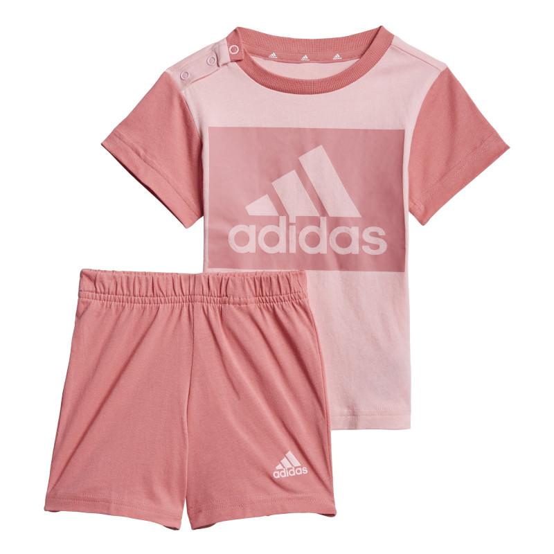 Set tricou și pantaloni scurți INFANTS ESSENTIALS, roz  240839