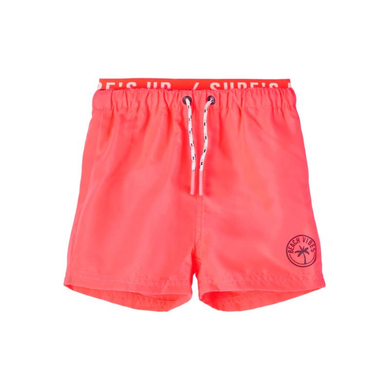 Pantaloni scurți tip costum de baie, roz  242358