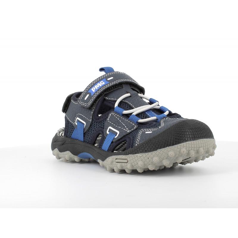 Sandale cu detalii bleu, albastru închis  242501