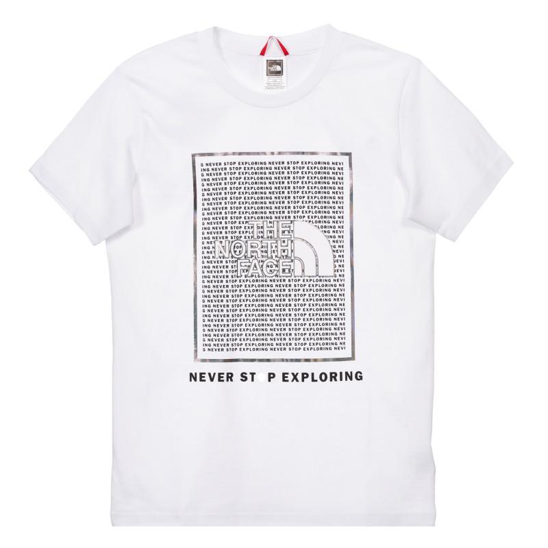 Tricou din bumbac cu sigla și inscripția mărcii, alb  243624