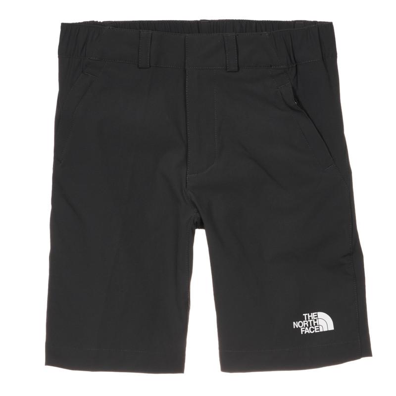 Pantaloni scurți cu sigla mărcii, negri  243636