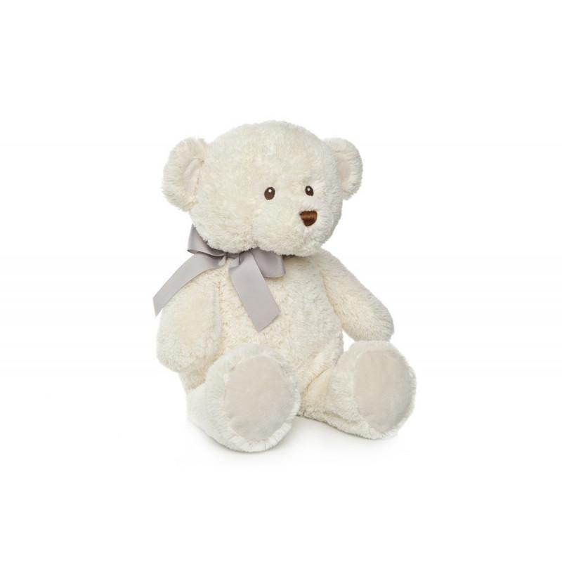 Ursuleț de pluș de culoare albă cu dimensiunea de 90 cm  25541