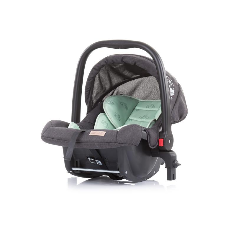 Scaun auto cu adaptoare Adora 0-13 kg, Mentă  257134