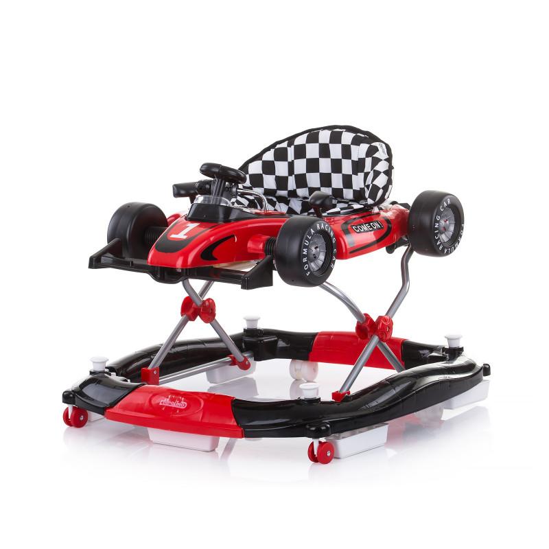 Premergător 4 în 1 Racer, roșu  257160