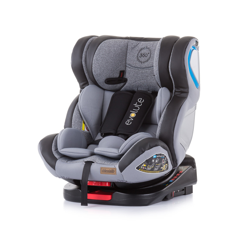 Scaun auto 360 ISO Evolute 0-36 kg, Gri  257284