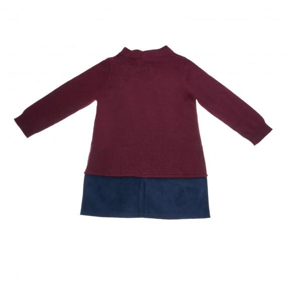 Rochie de copii tricotată Benetton 25976 2