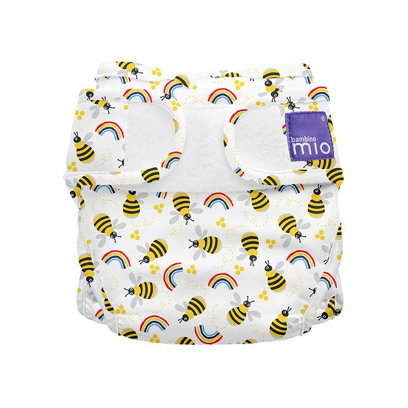 Chiloței refolosibili cu imprimeu albinuțe Dimensiune: 1, până la 9 kg, 1 buc  270018