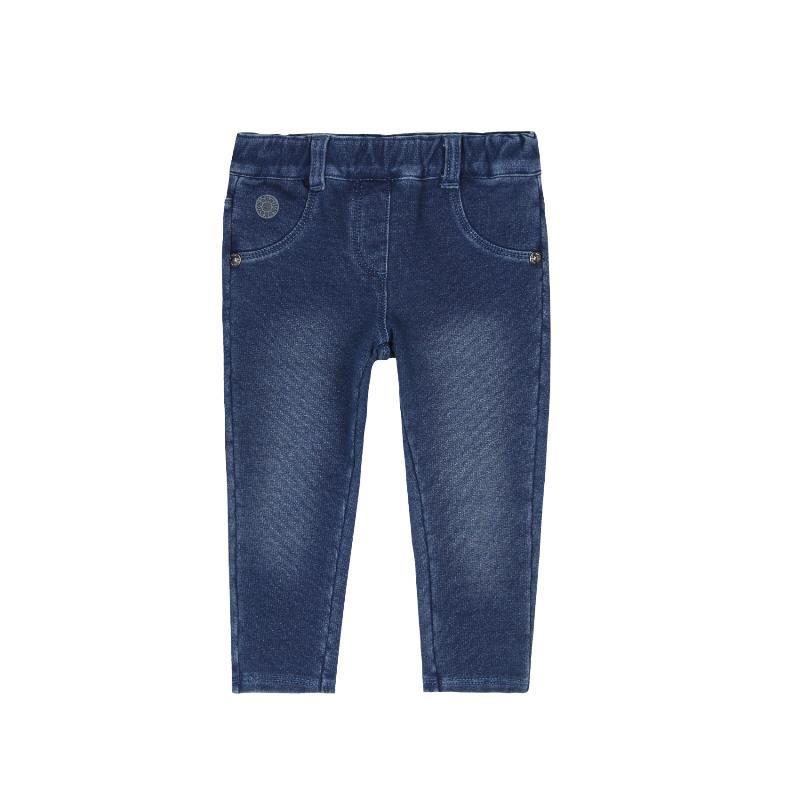 Jeans pentru fete, de culoare albastru  271