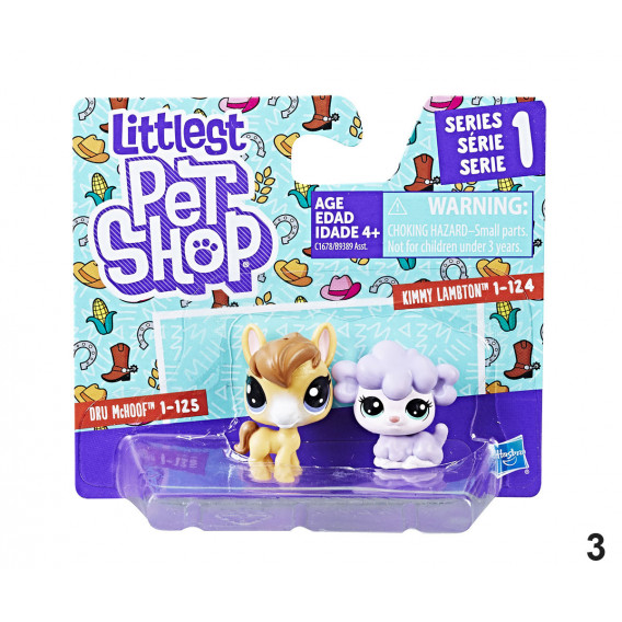 Animale mici - set de Figurine Littlest Pet Shop 2721