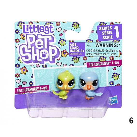 Animale mici - set de Figurine Littlest Pet Shop 2726 11