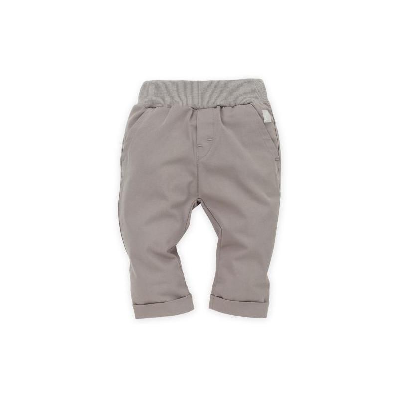 Pantaloni cu tiv și manșetă lată pentru băieței  28246