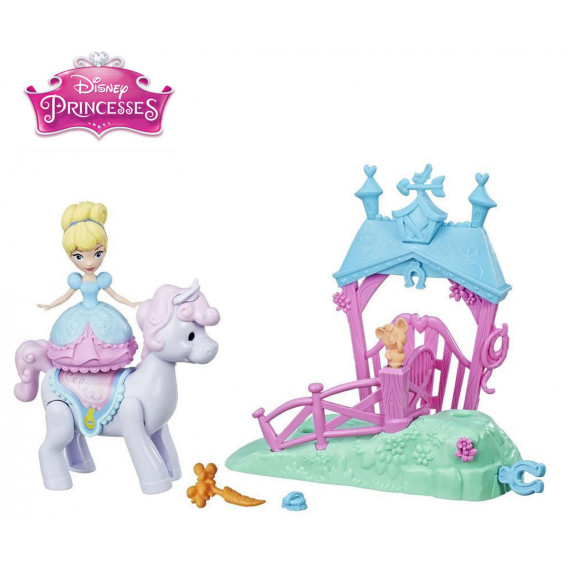 Prințese Disney - mini set de păpuși Disney 2828 4