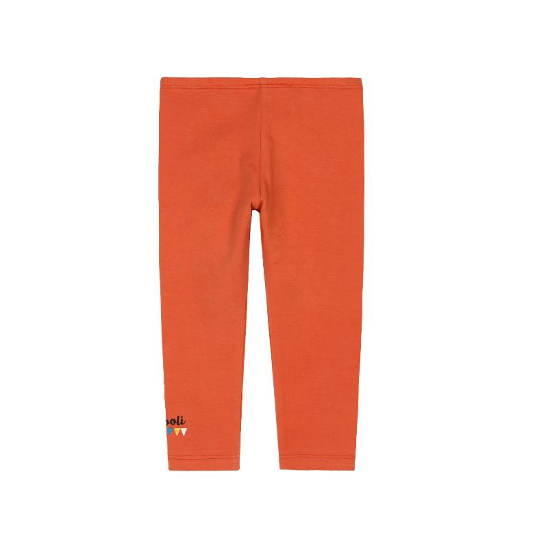 Colanți lungi pentru fete, de culoare portocaliu  285