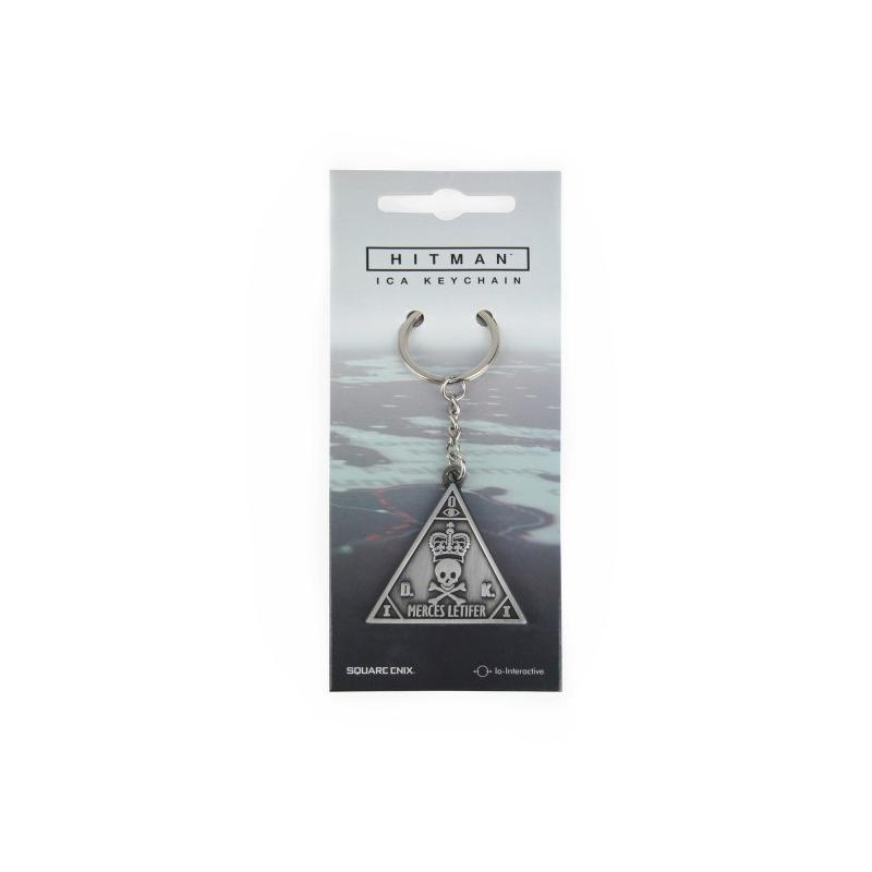 Breloc Hitman Keychain ICA Metal  2887