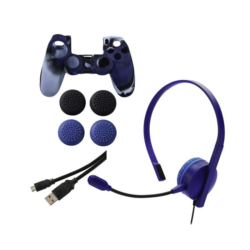 Set de accesorii pentru Sony PS4, Chat, Power & Grip  2891