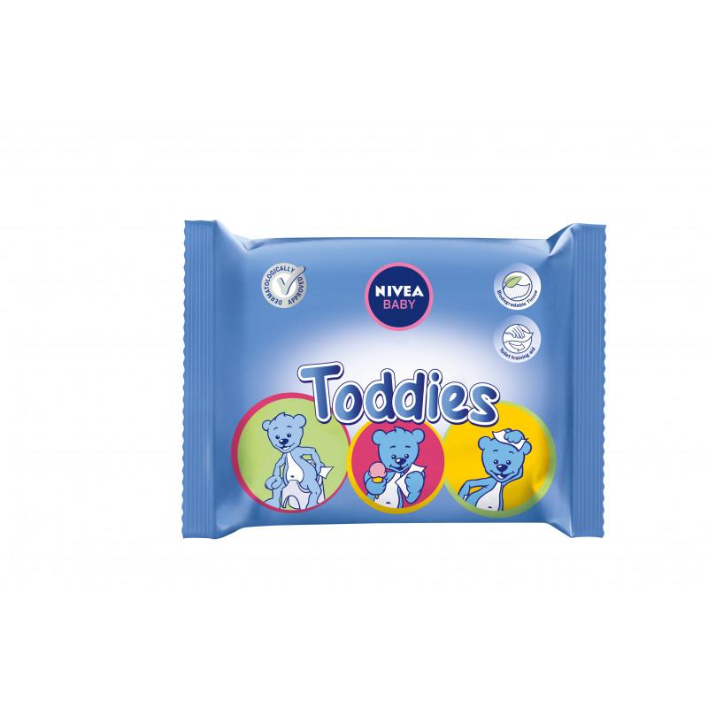 Șervețele Nivea Toddies pentru copii, 60 buc.  2928