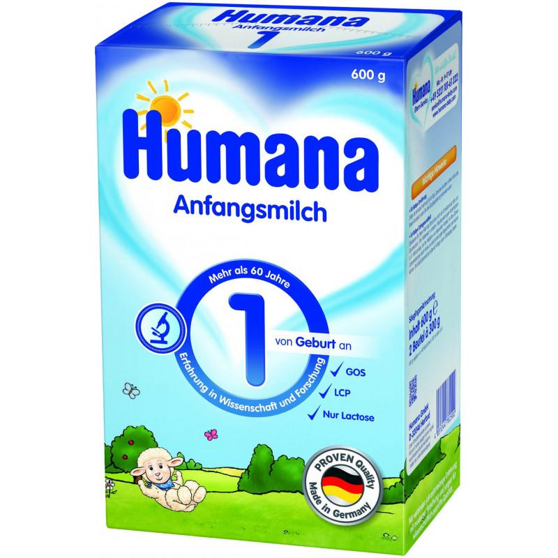 Lapte adaptat 1, formulă pentru sugari, 0+ luni, cutie 600 g.  2945