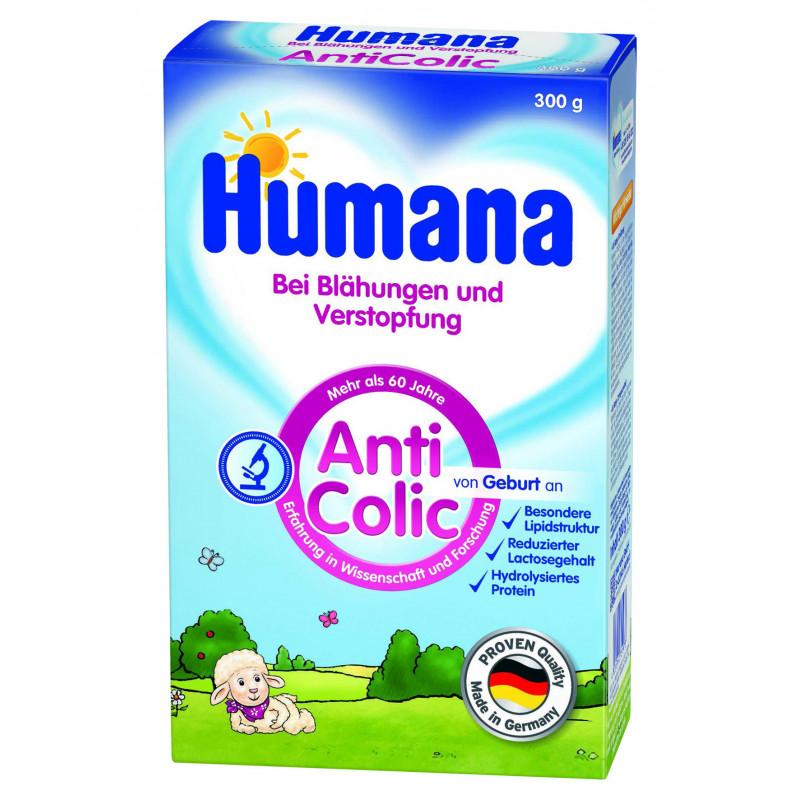 Lapte praf Humana AntiColic pentru bebeluși cu probleme digestive  2955