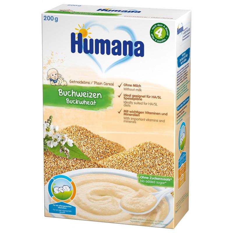Terci fără lapte cu hrișcă, peste 4 luni, cutie 200 g.  2964