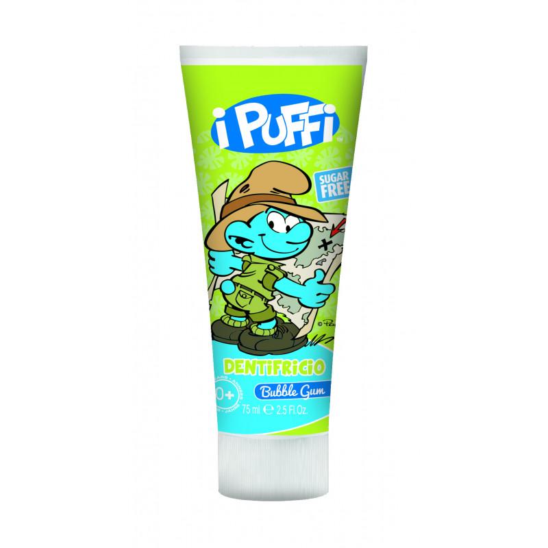Pasta de dinți cu aroma de guma în tub de plastic de 75 ml Ștrumfi  2980