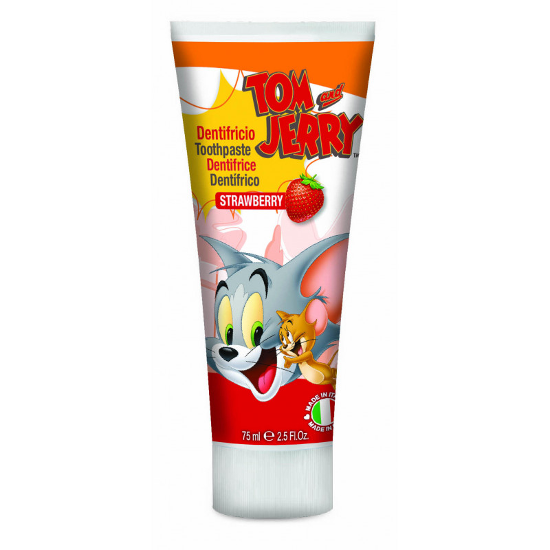 Pasta de dinți într-un tub de plastic de 75 ml Tom & Jerry  2981