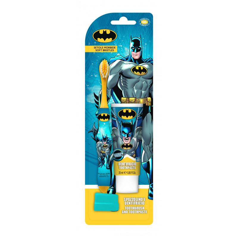 Set de periuță de dinți + pastă de dinți de 25 ml Batman  2986