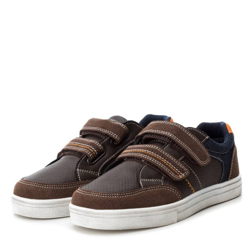 Pantofi din piele pentru băieți, cu căptușeală moale  3087