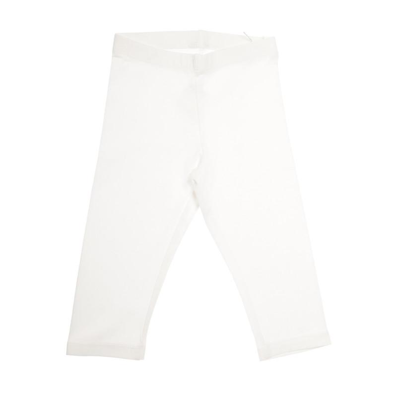 Pantaloni 7/8 pentru fete, alb  31683