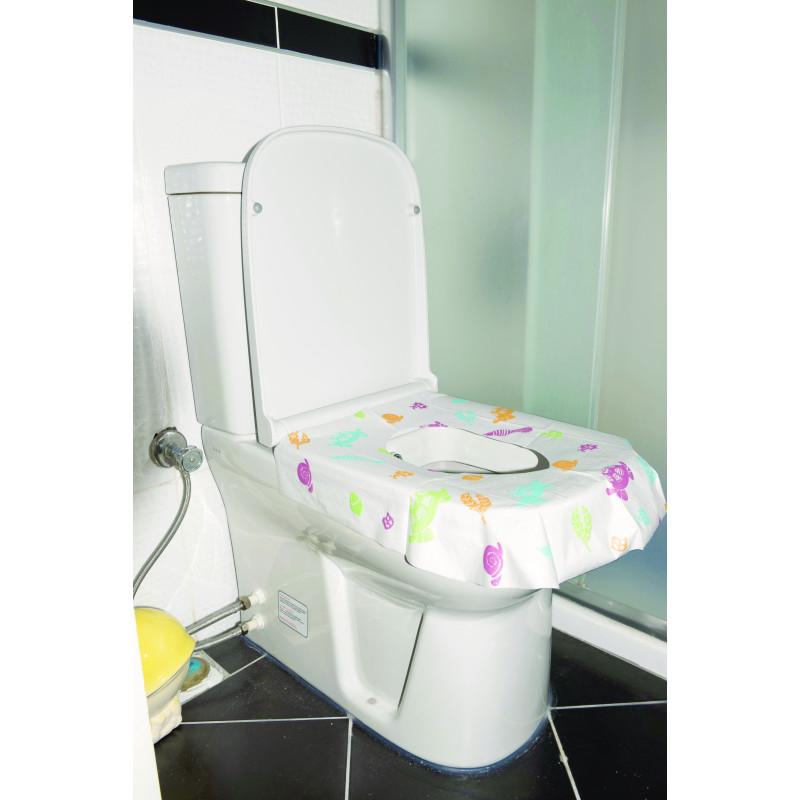 Set protectoare de unică folosință pentru vasele WC  3241