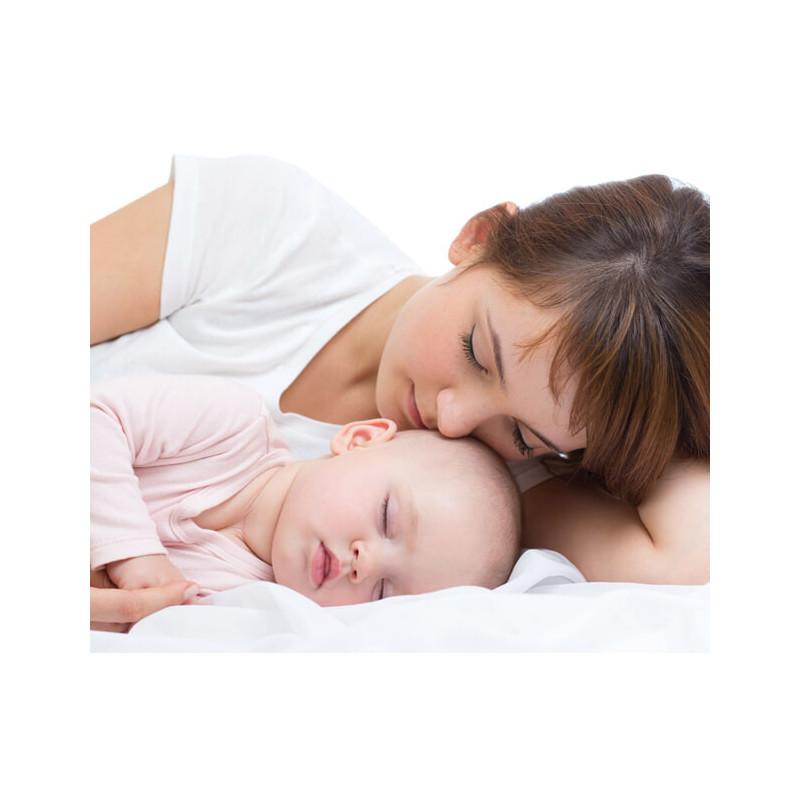 Pernă pentru bebeluși, 35 x 45 cm, cu fibre de silicon antibacteriene și antialergice  3263