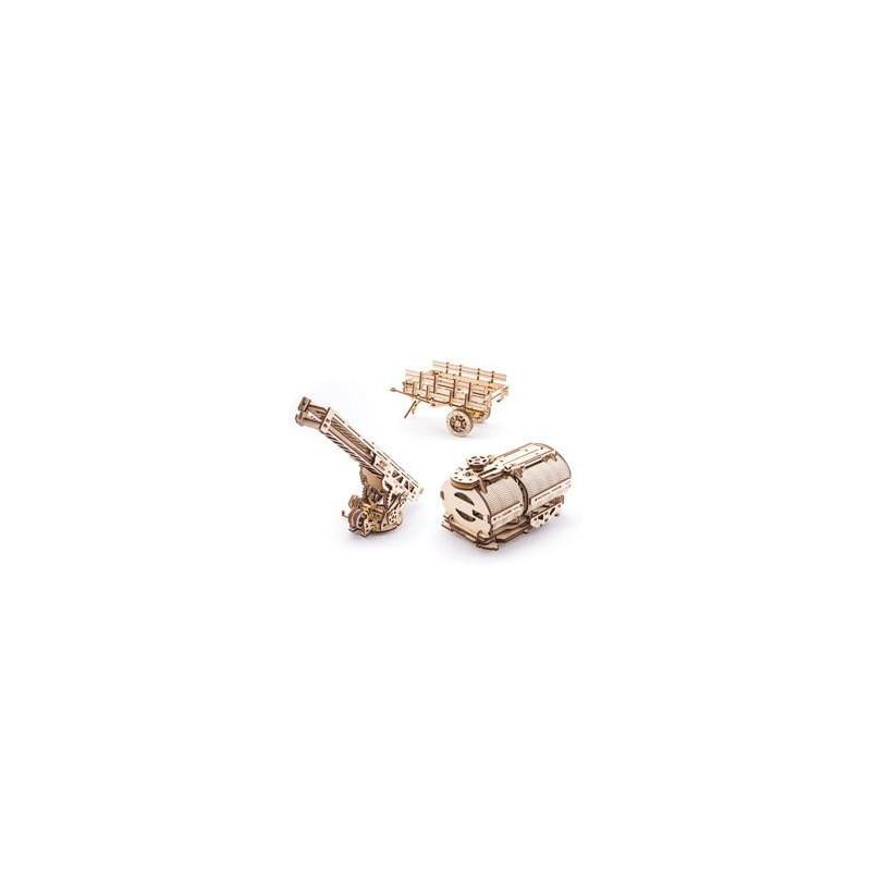 Puzzle mecanic 3D Set de accesorii pentru camion UGM-11  3304