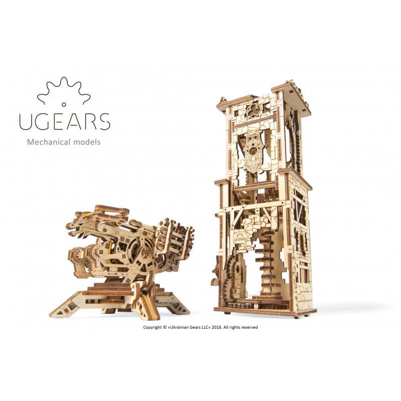 Puzzle mecanic 3D Turn cu arbaletă  3319