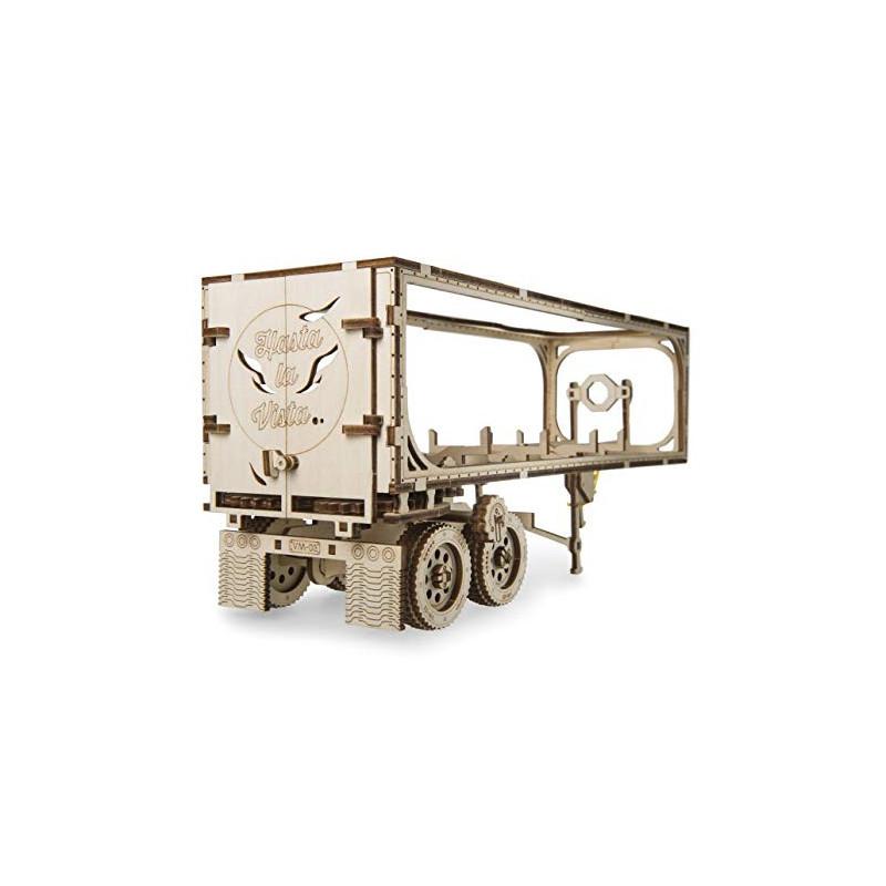 Puzzle mecanic 3D Ugears Remorcă pentru camion Heavy Boy  3327