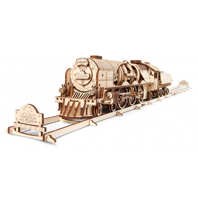 Puzzle mecanic 3D, Tren V-Express  3330