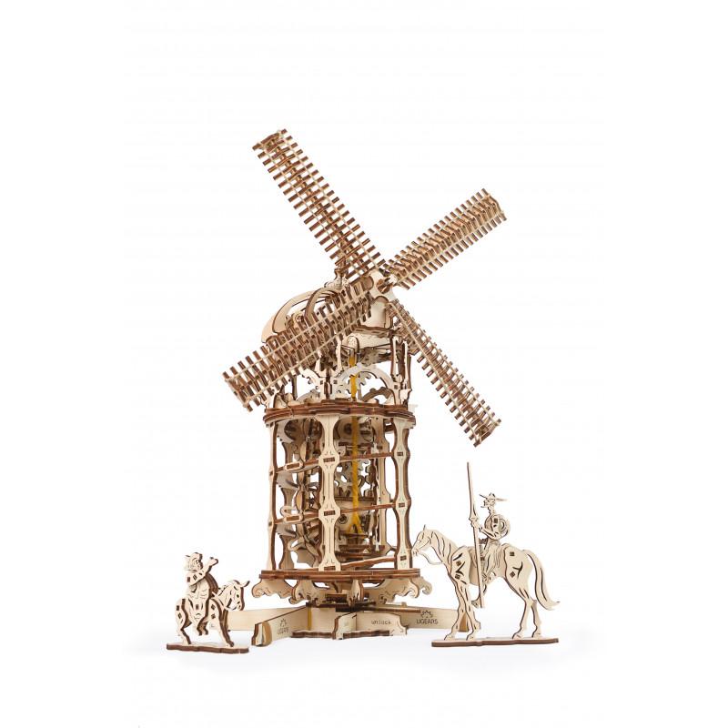 Puzzle mecanic 3D, Moara de vânt  3331