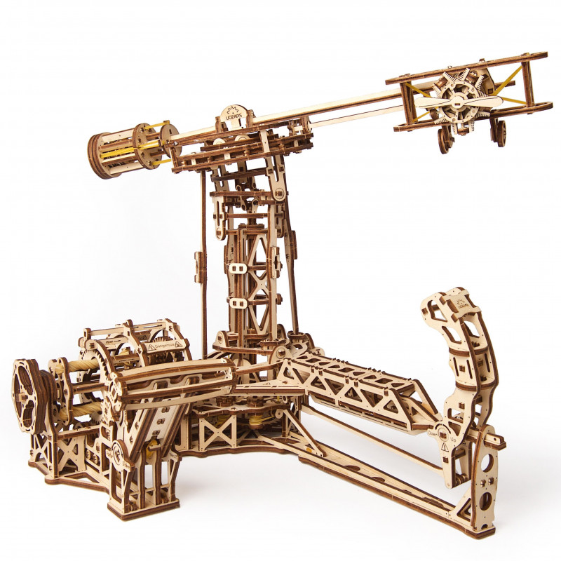 Puzzle mecanic 3D Ugears Aviator  3332