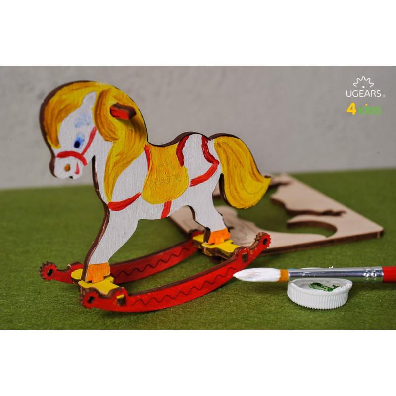 Puzzle mecanic 3D pentru copii, Balansoar  3341