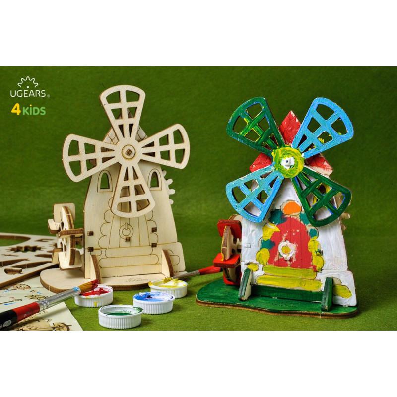 Puzzle mecanic 3D 4kids Mill  3351